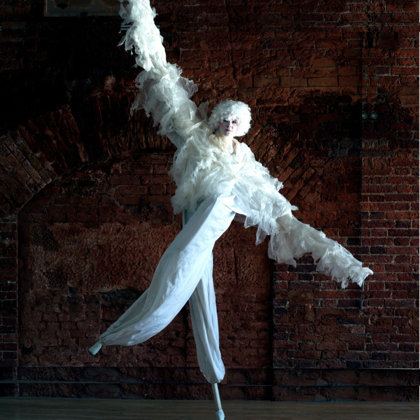 ходулисты - ангелы - Съе Шосу